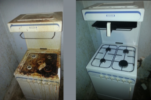 What a difference Spring Clean can make to a cooker